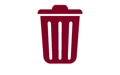 Link to Waste and recycling information content